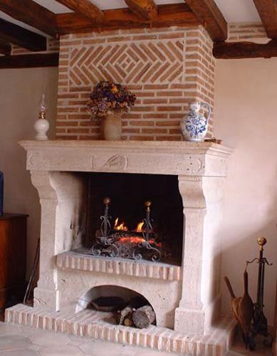 beautiful cheminee double foyer 11 atelier de la pierre. Black Bedroom Furniture Sets. Home Design Ideas